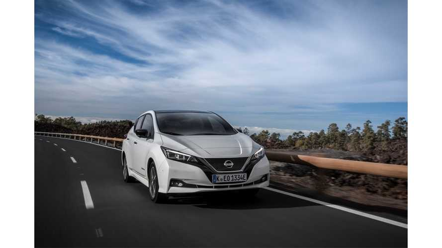 Nissan LEAF Sales In Europe Dip Below 2,500 In August 2018