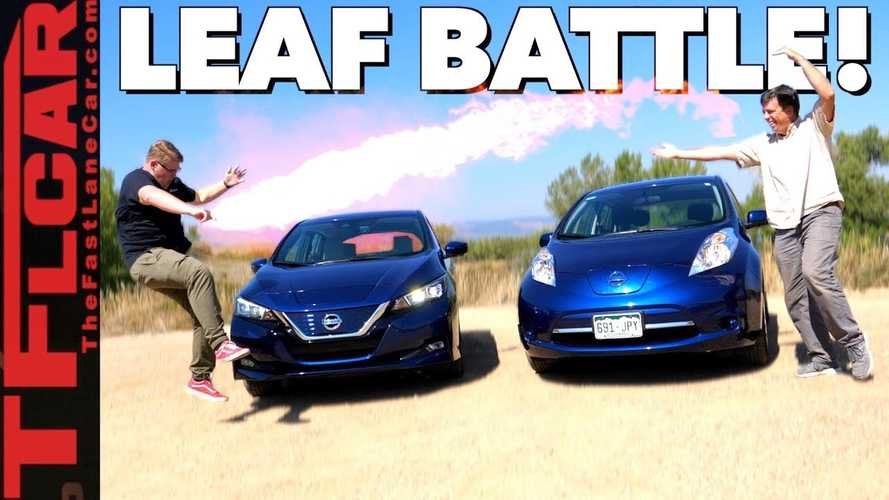 2018 Nissan LEAF Compared To 2017 LEAF: Video