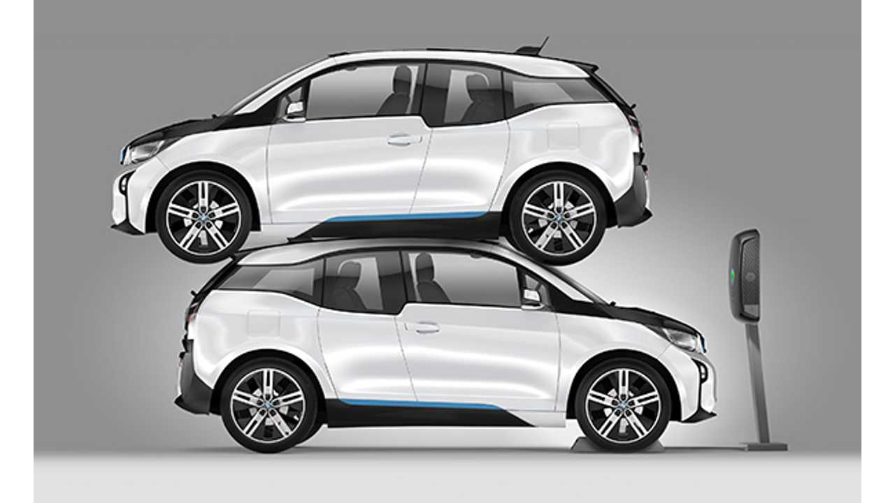 Plugless Is Durable Enough To Hold 2 Bmw I3s At Once But Only First Will