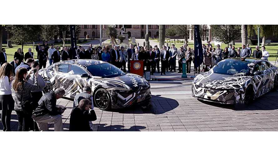 Lucid To Build In EVs Arizona: Production In 2018, Displays Prototypes Today - Video