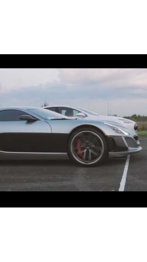 Rimac Concept_One 1/4 Mile Races The Tesla Model S P90D, LaFerrari - Videos