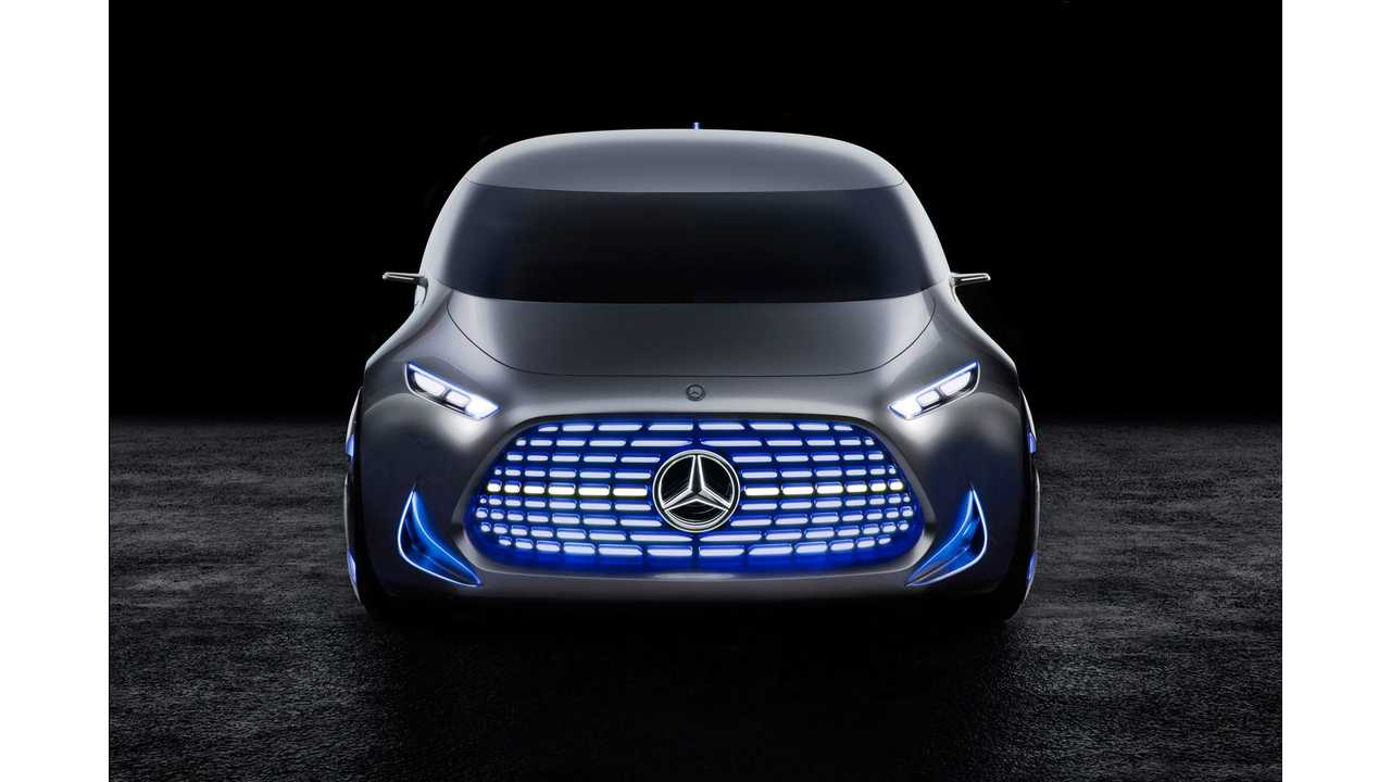 Mercedes-Benz Could Create BMW i-Like Electric Car Sub Brand In The Future