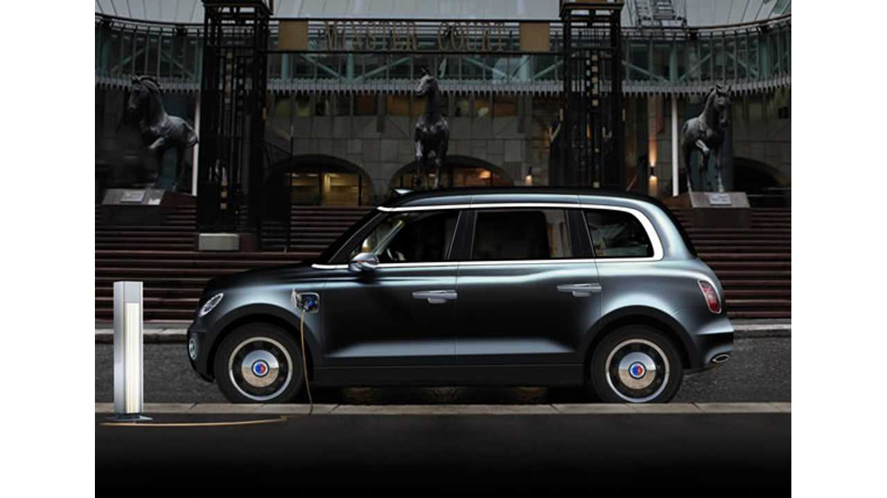 London Taxi Company To Launch Electric Taxi In Late 2017