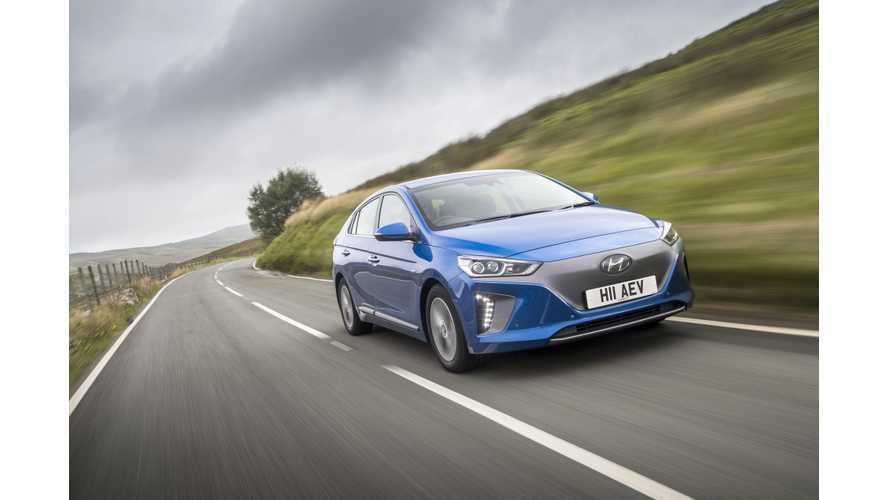 Autocar Pits Hyundai IONIQ Electric Versus BMW i3, Nissan LEAF, Volkswagen e-Golf