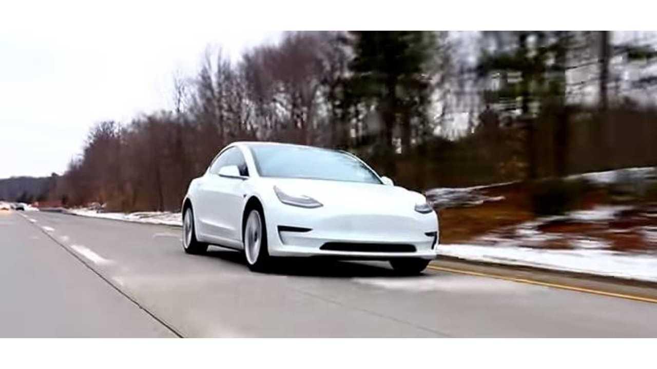 Tesla Update Should Improve Model 3 Braking Distance By ~20 Feet