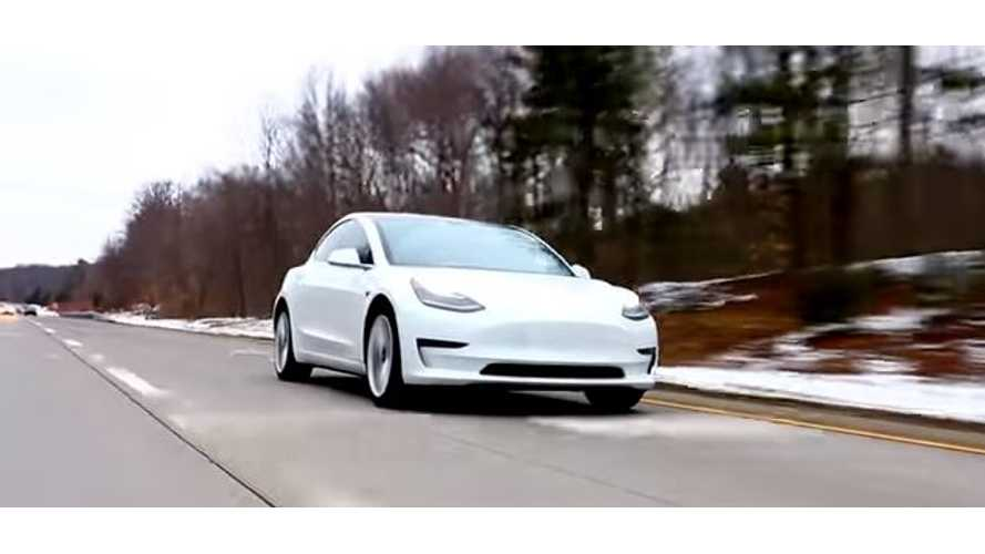 Tesla Update Should Improve Model 3 Braking Distance By ~20 Feet