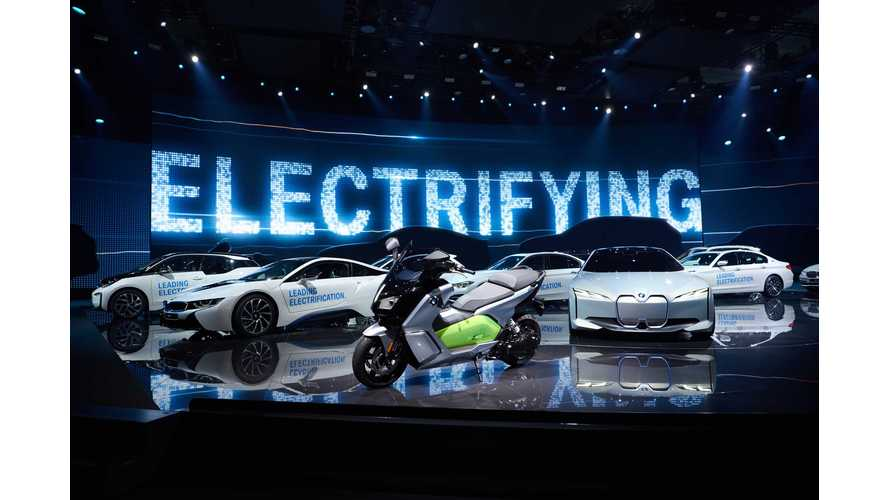BMW Group Plug-In Electric Car Sales Up 52% In April