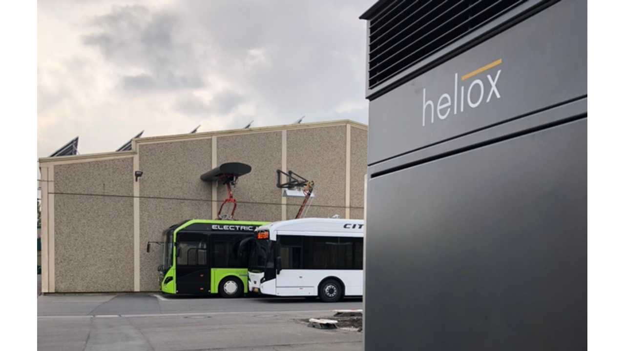Heliox Introduces Multi-Standard Charging For Buses In Europe