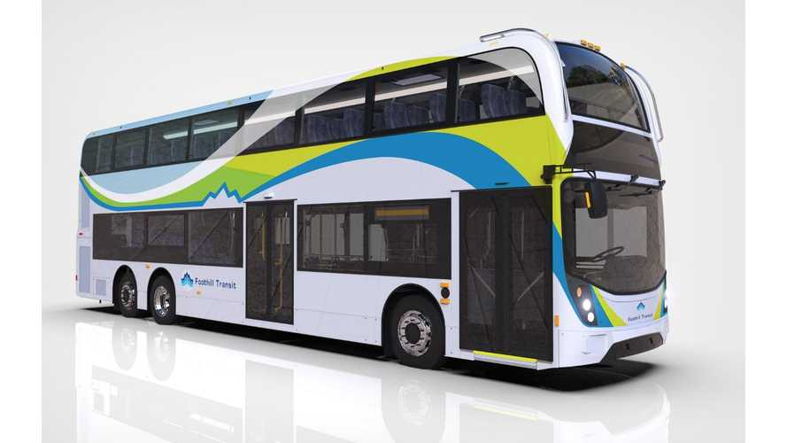 Proterra To Power North America's First Electric Double Deck Buses