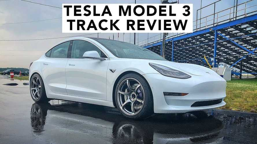 Speed Academy Takes Modified Tesla Model 3 Out On Track