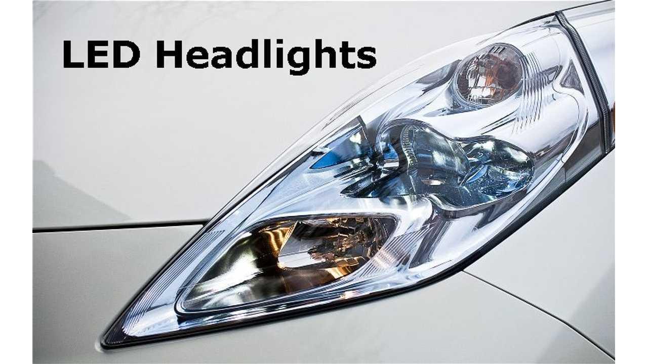 Nissan LEAF With LED Lights