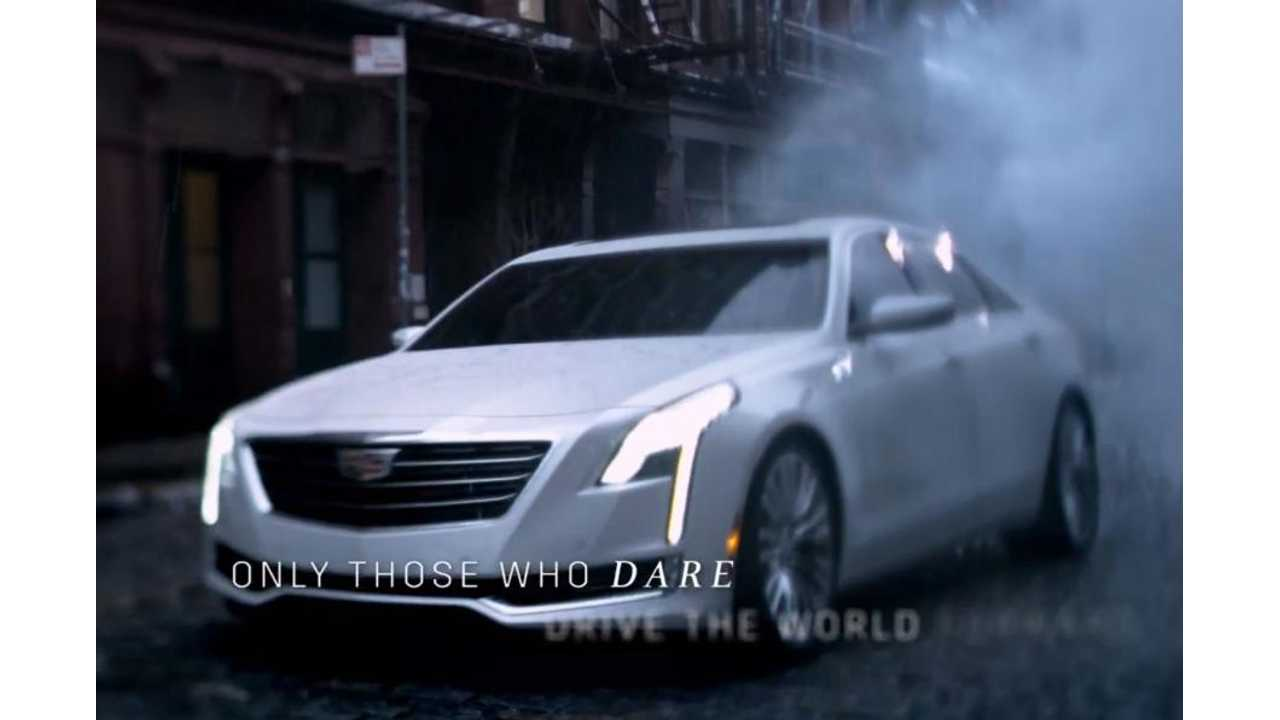 Cadillac To Reveal CT6 At New York Auto Show - Plug-In Hybrid Version Planned