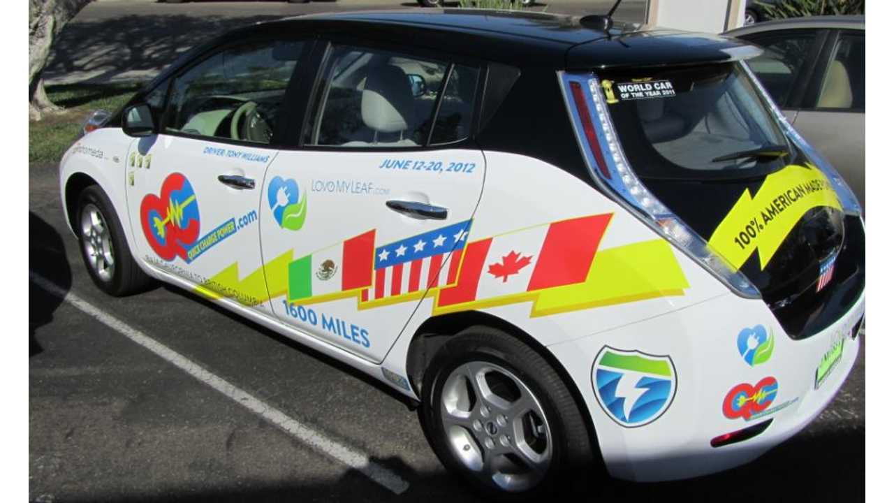Scouring the West Coast For Plugs On The West Coast Electric Highway From June 12th to 20th, 2012