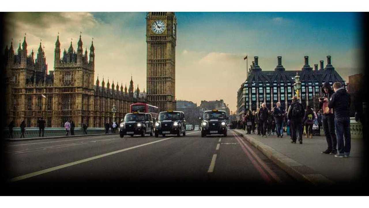 Metrocabs in London