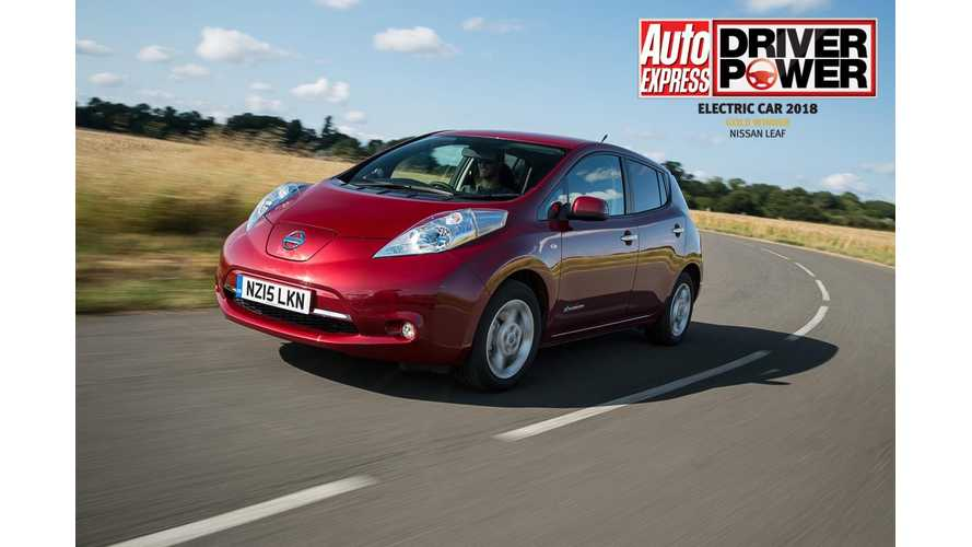Nissan LEAF Tops In Customer Satisfaction Study