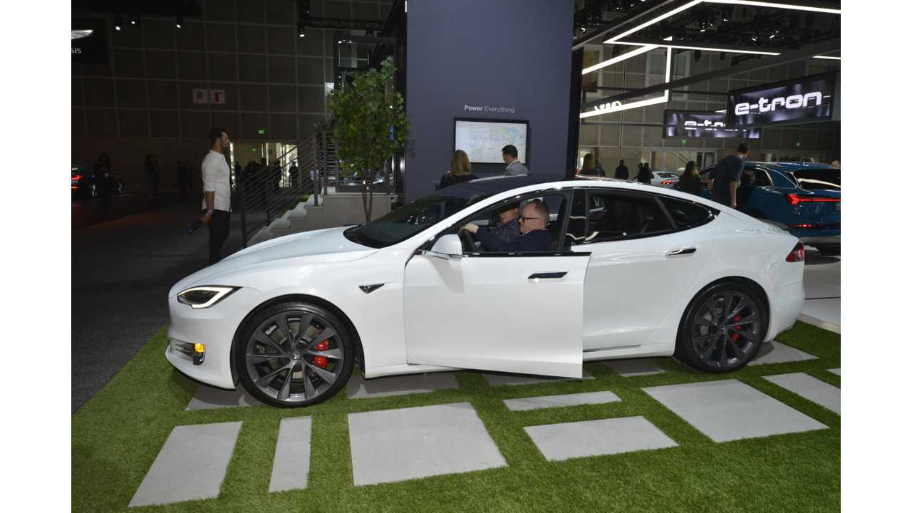 Let's See What Top Auto Execs Said About Tesla At The LA Auto Show