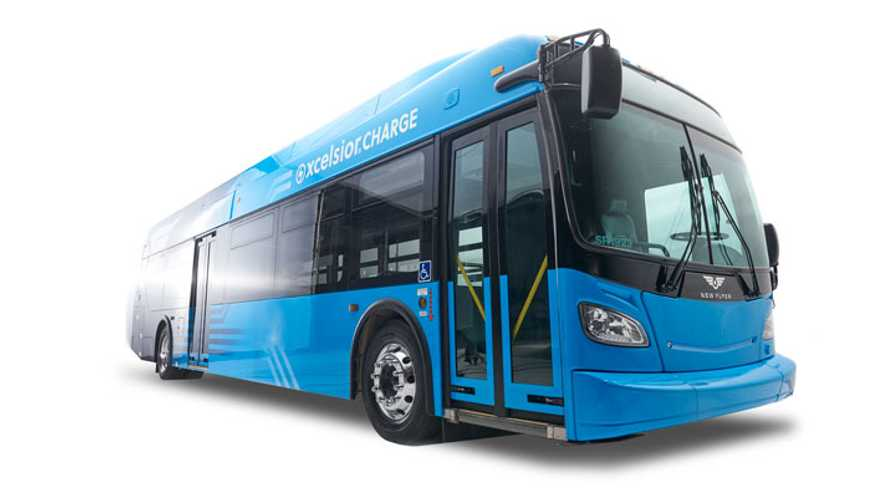 New Flyer Is First With Altoona Tested 60-Foot Articulated Electric Bus