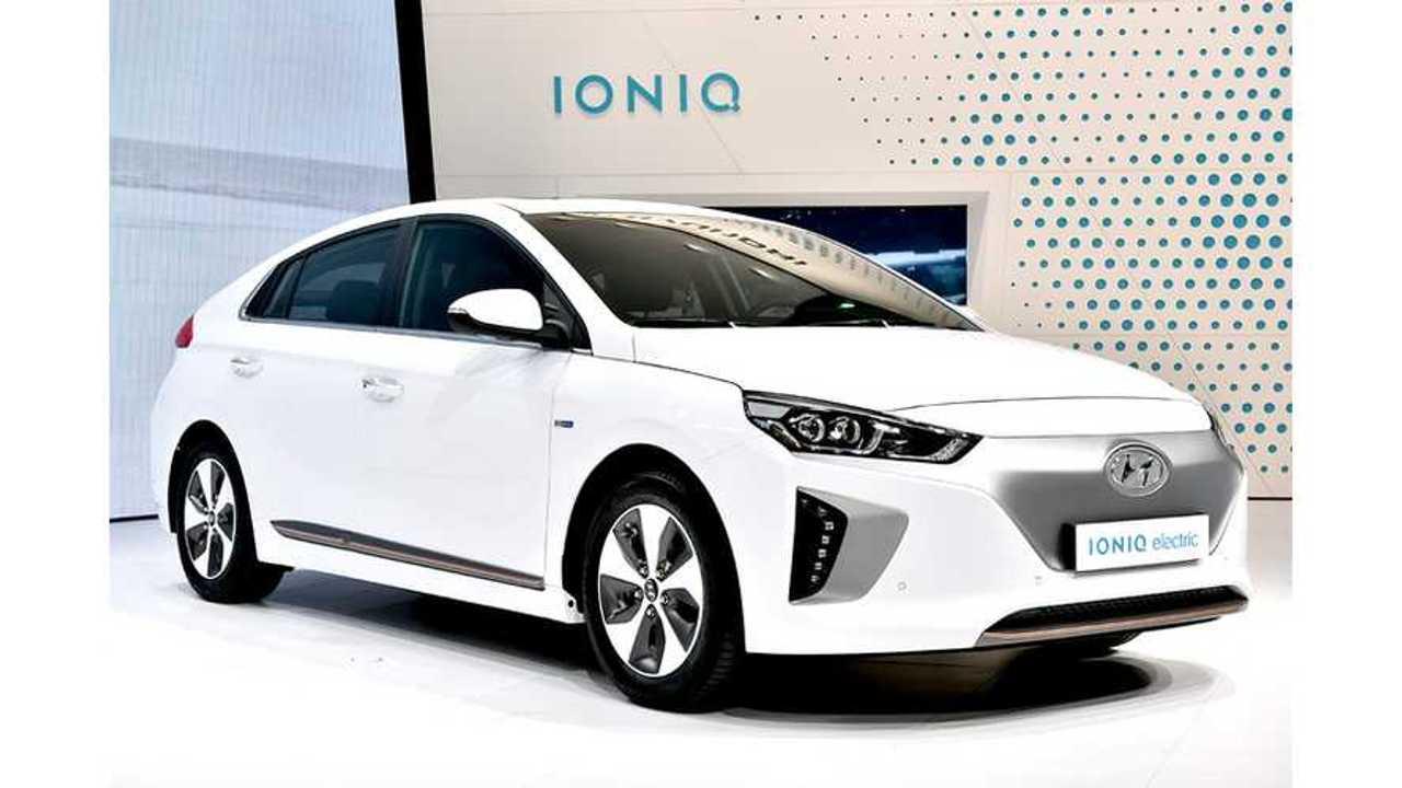 More Than 2,500 Hyundai IONIQ Electrics Already Sold In South Korea