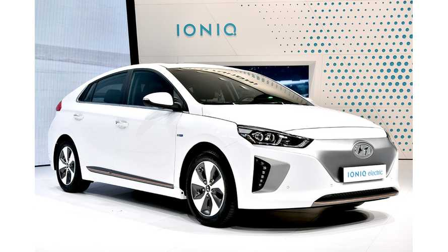More Than 2,500 Hyundai IONIQ Electrics Already Sold In South Korea