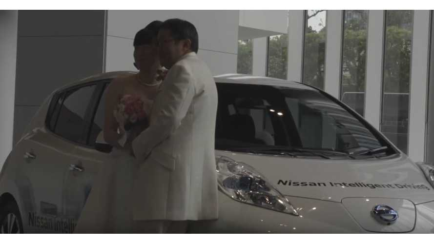 ForEVerLEAF:  Two LEAF Owners Meet, Get Married At Event - video