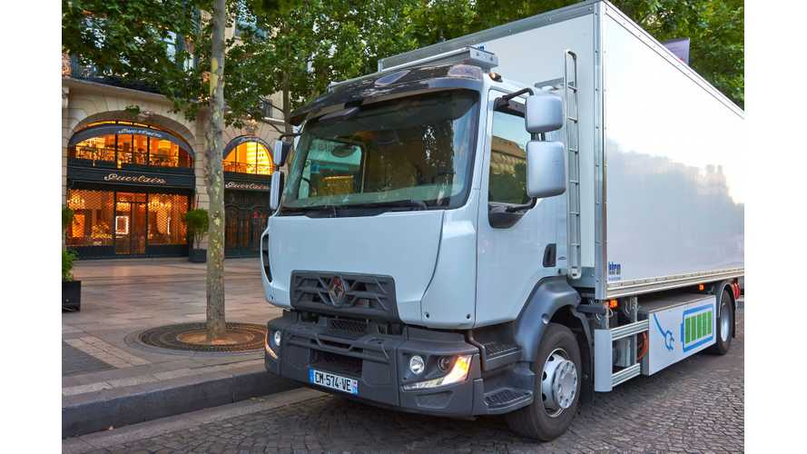 Renault Developing 1-Ton Electric Commercial Vehicle With 155-Mile Range