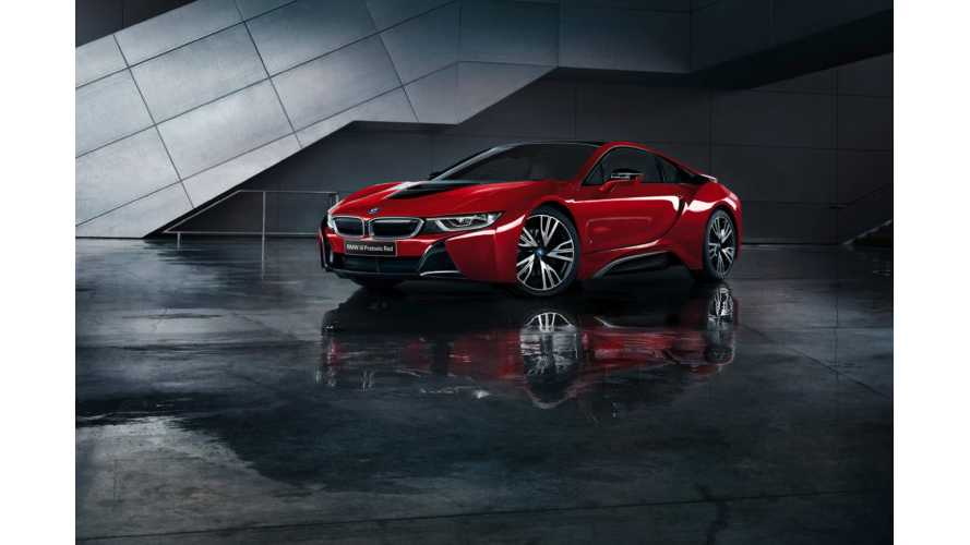 BMW Japan Launches i8 Celebration Edition Protonic Red
