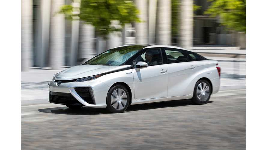 Toyota Mirai Will Launch In Canada This Year