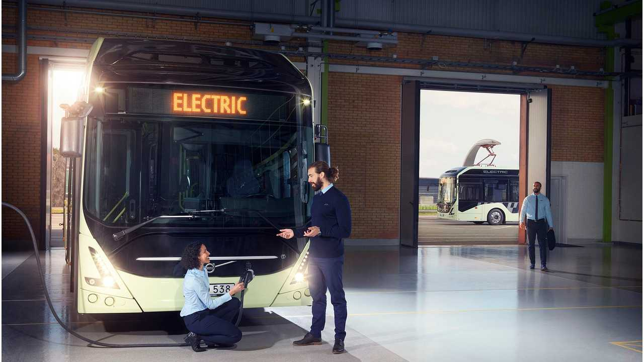 Volvo Launches New 7900 Electric Bus