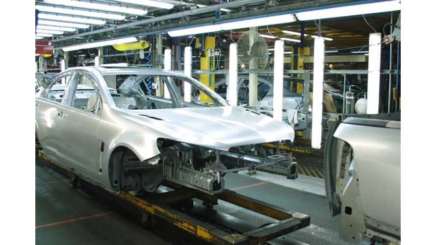 UPDATE: Former GM Holden Factory In Australia Might Make Electric Cars