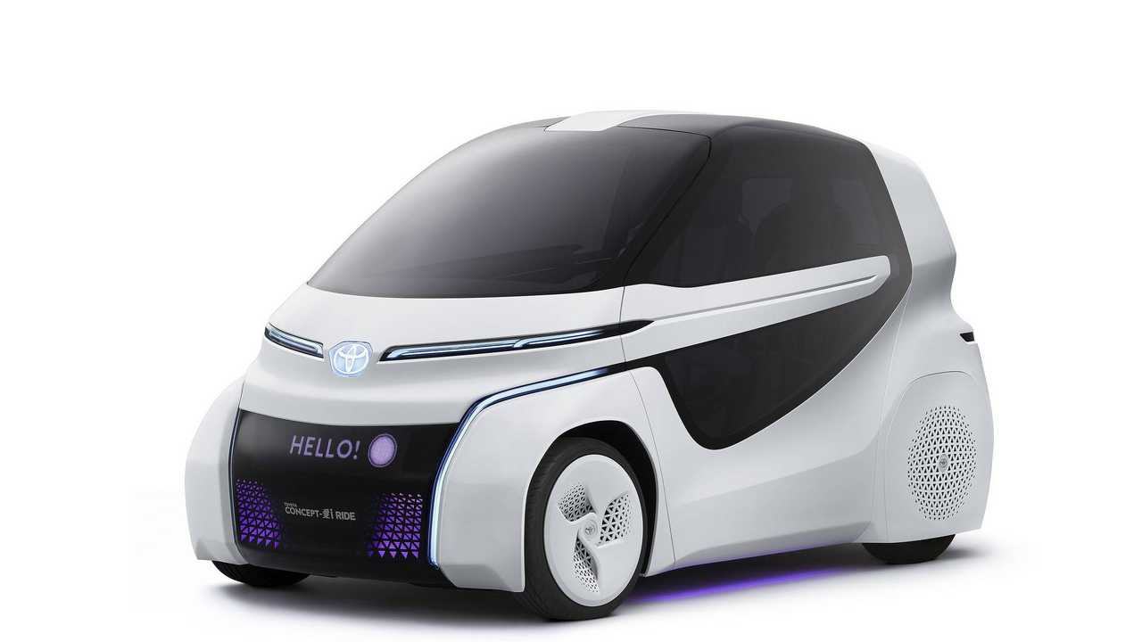 Toyota Concept-i Ride To Debut At Tokyo Motor Show