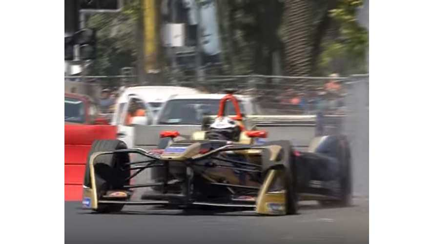 Crashes, Spins And Slides From Santiago Formula E ePrix - Video
