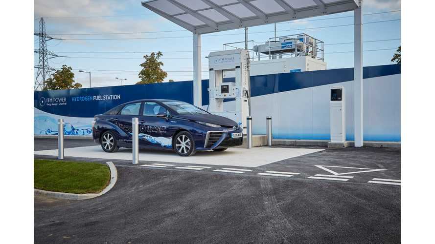 There Are 6,500 Hydrogen Fuel Cell Cars Worldwide (Half In