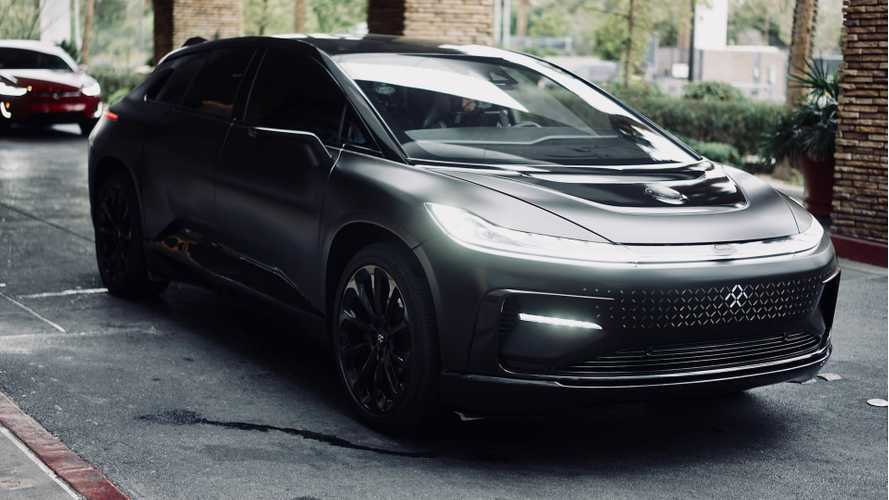 Faraday Future FF 91 Returns To CES With Stealth Combat Prototype (Video)
