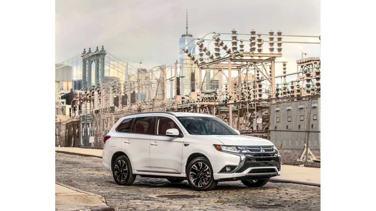2017 Mitsubishi Outlander PHEV Debuts In New York, Arrives This Fall