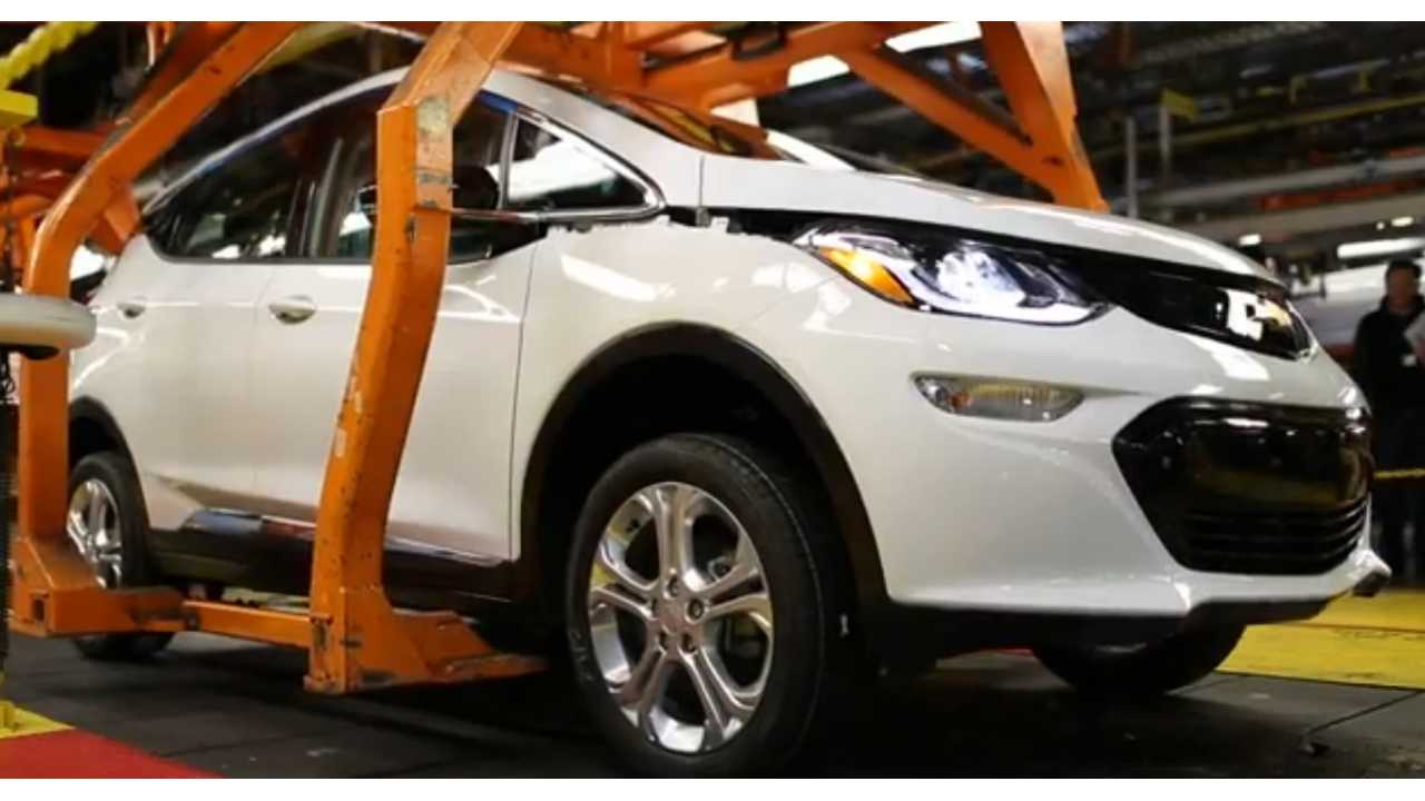 Watch The Chevrolet Bolt EV Enter Pre-Production In Michigan - Video