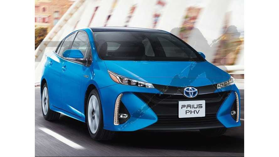 New Toyota Prius Plug-In Info Reportedly Leaks Out: Fall Arrival, 30 Miles Range (in Japan)