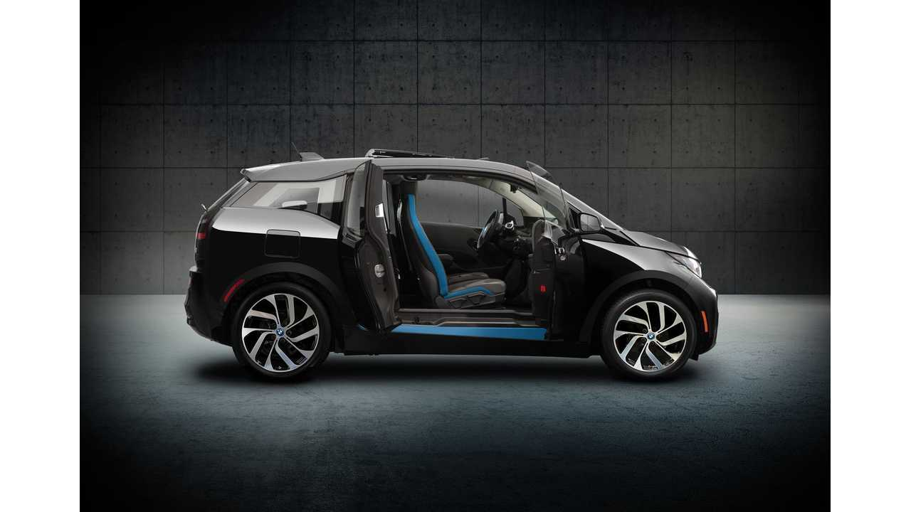 The BMW i3 (shown here in limited Shadow Sport Edition),.