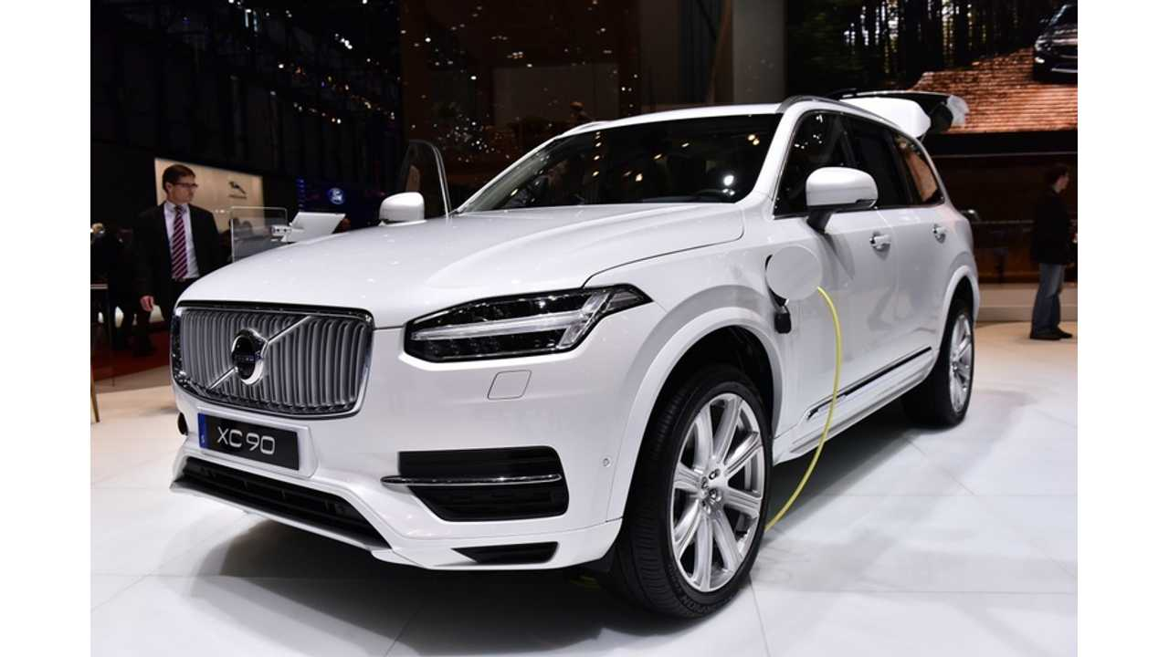 Volvo XC90 T8 Twin Engine – Live Images + Video From Geneva