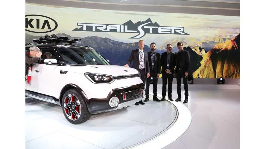 Kia Trail'ster Concept Car At 2015 Chicago Auto Show – Images & Videos