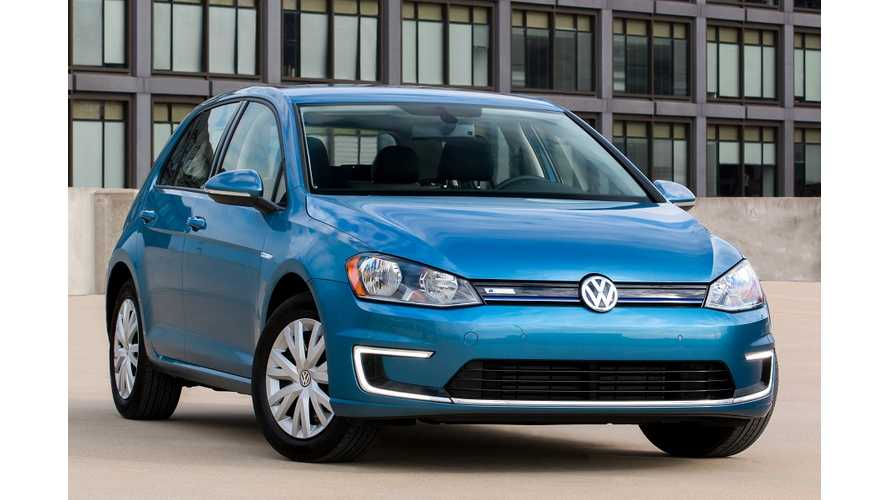 Volkswagen Announces $2,000 Lower Priced Version Of e-Golf In US