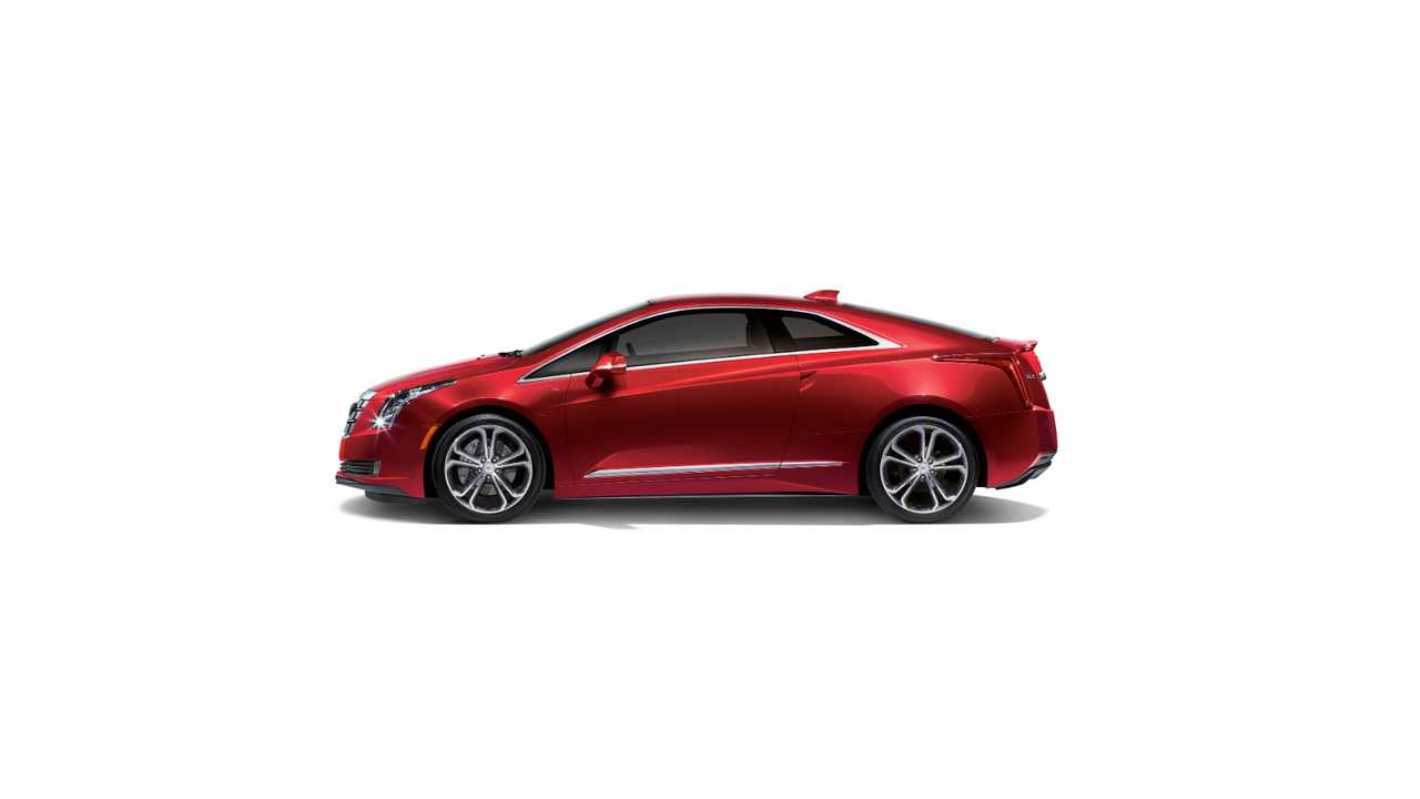 2016 Cadillac ELR red