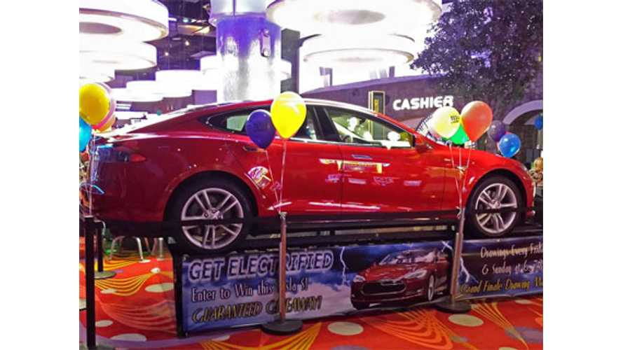 """I Can't Believe I Won A Tesla"" - Says Tesla Triple Spin Winner"