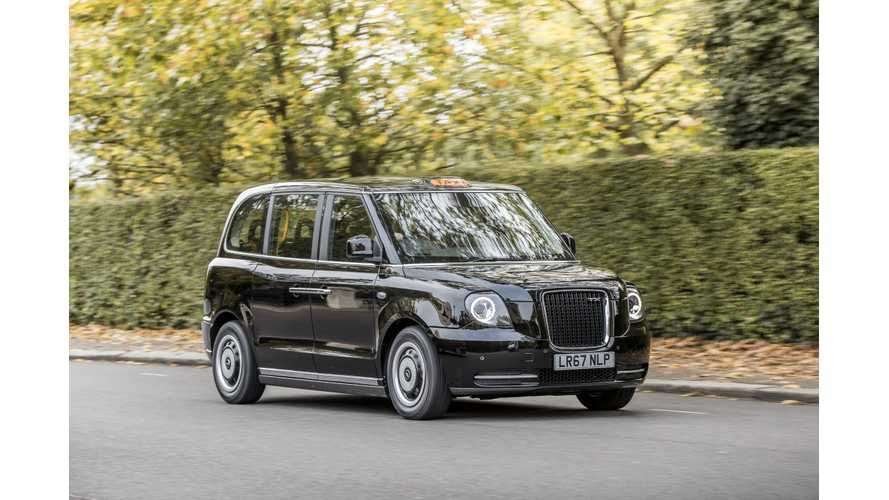 Test Drive Of London's Range-Extended Electric Black Cab