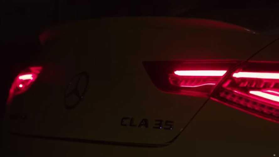 VIDÉO - La Mercedes-AMG CLA 35 est dans les parages