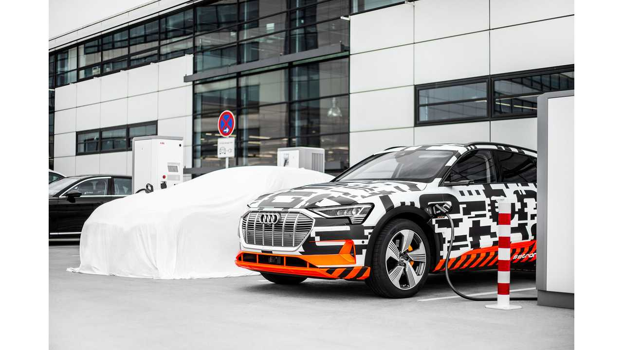 Audi Claims e-Tron Is World's First Series-Produced Car To Charge At 150 kW
