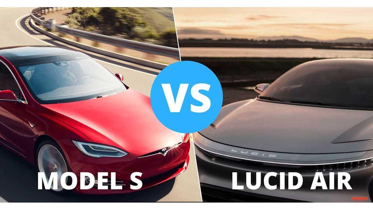 Compared: Tesla Model S Versus Lucid Air - Video
