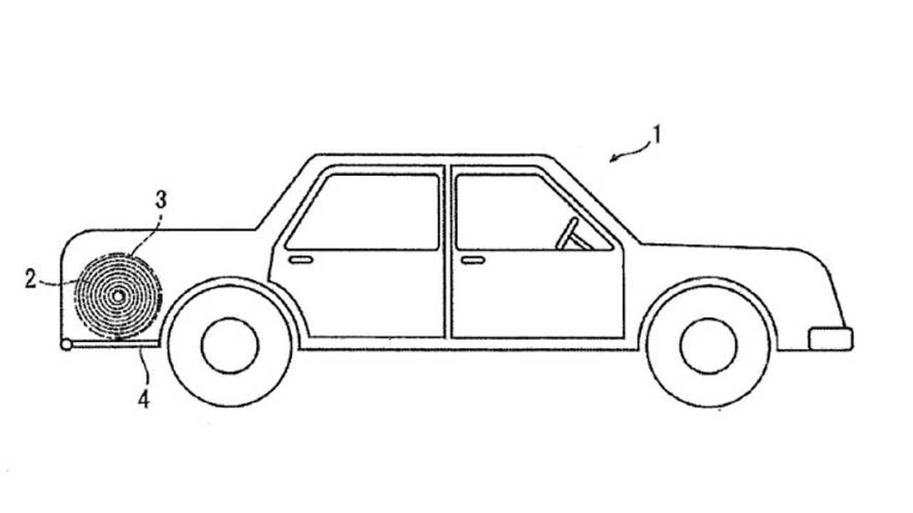 Roll-up solar panel EV patent