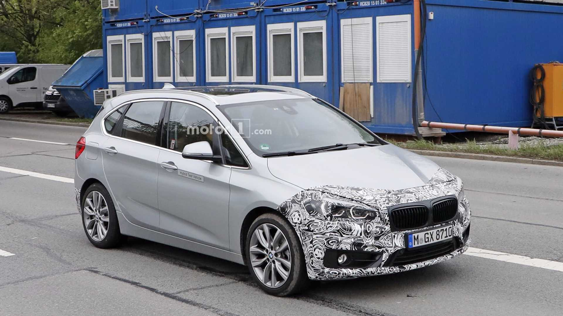 Spy Shots Show Updated Bmw 225xe Active Tourer Plug In Hybrid