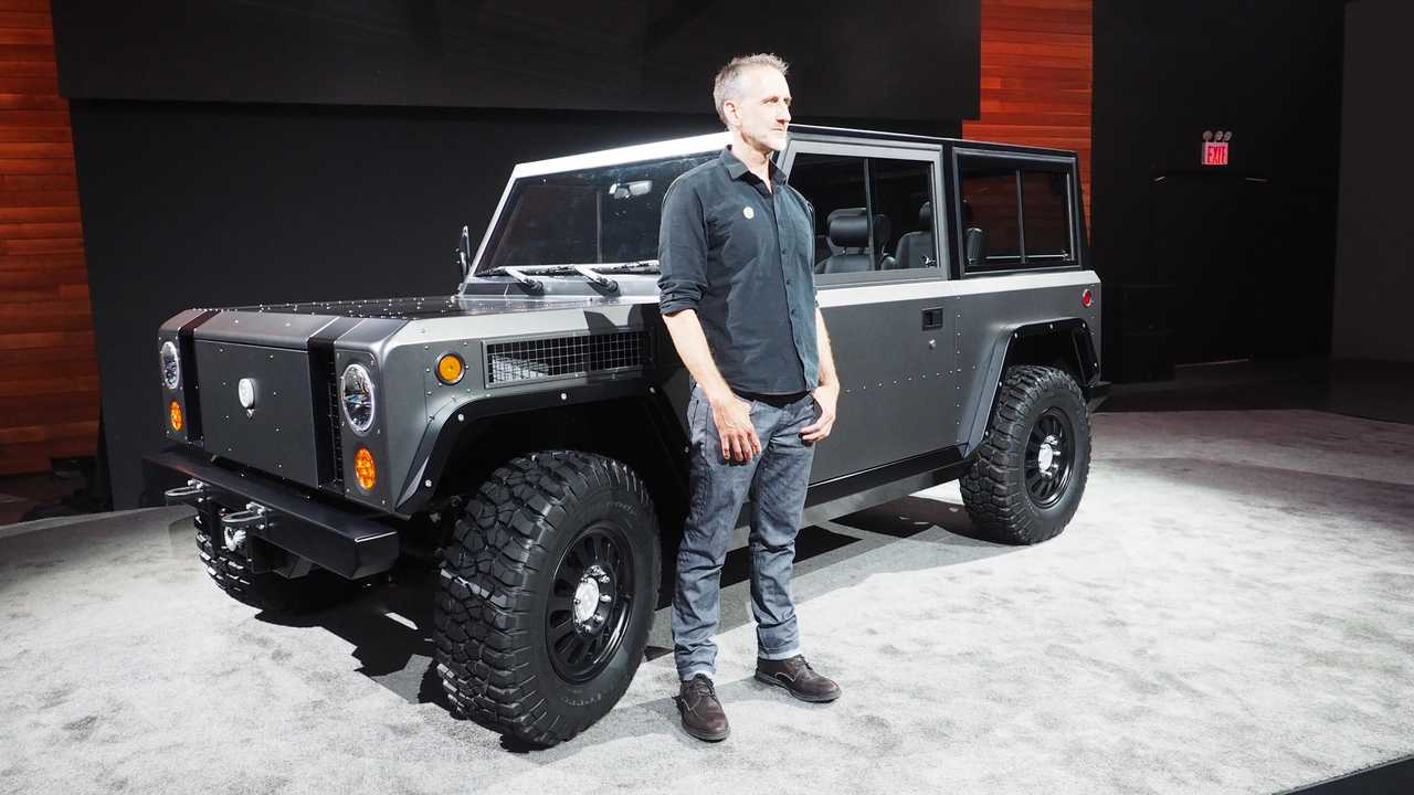 Bollinger B1's Weight Puts Electric Truck In A Higher Category