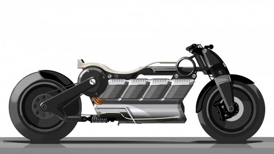 "Curtiss Motorcycles Unveils ""V8"" Electric Zeus"